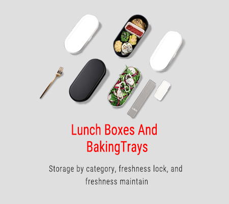 Lunch Boxes And Baking Trays